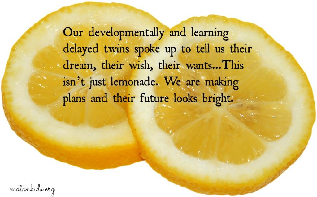 lemons lemonade Matan