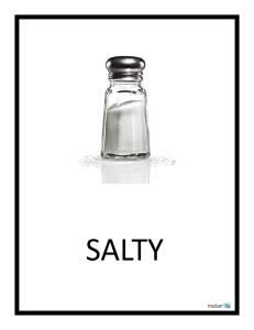 Tu B'Shevat Taste Test, salty - Matan