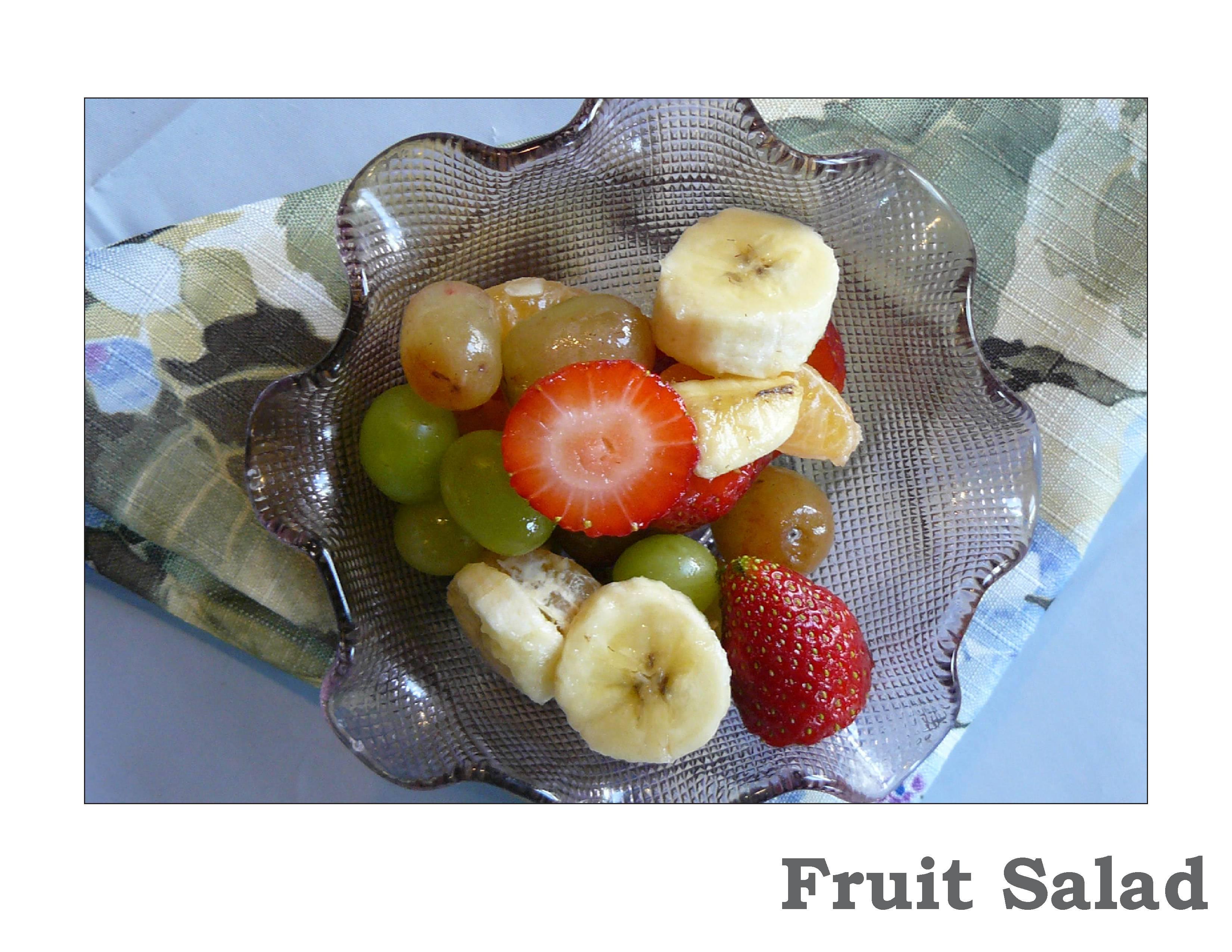 Tu B'Shevat fruit salad