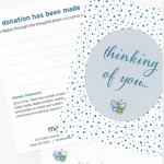 Thinking of You Donation Card
