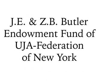 J.E. & Z.B. Butler Endowment Fund of UJA-Federation of New York