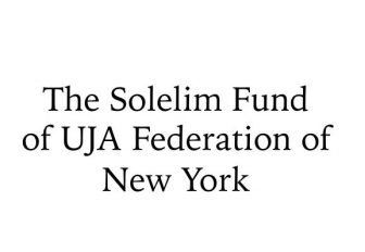 The Solelim Fund of UJA Federation of New York
