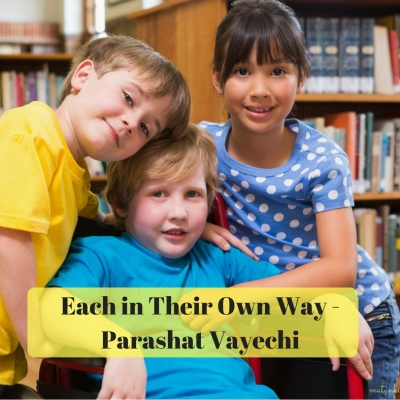 Each in Their Own Way – Parashat Vayechi