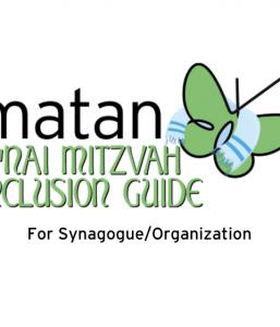 Matan B'nai Mitzvah Inclusion Guide: Synagogue/Organization
