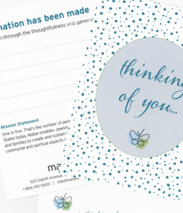 Cards (Thinking of You): Pack of 8