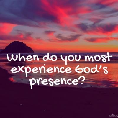 Experiencing God's Presence – Parashat Vayera